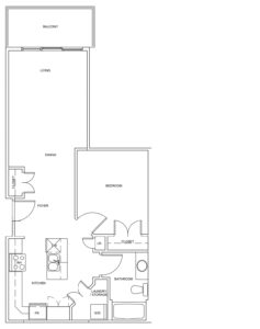 Sandstone Place - Apartment Style E