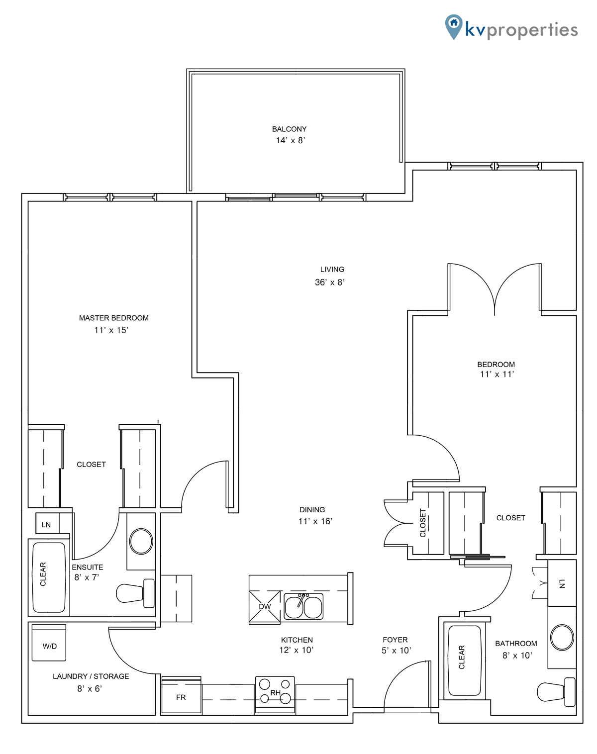 Sandstone Place - Apartment Style B