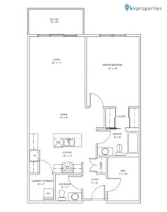 Sandstone Place - Apartment Style C