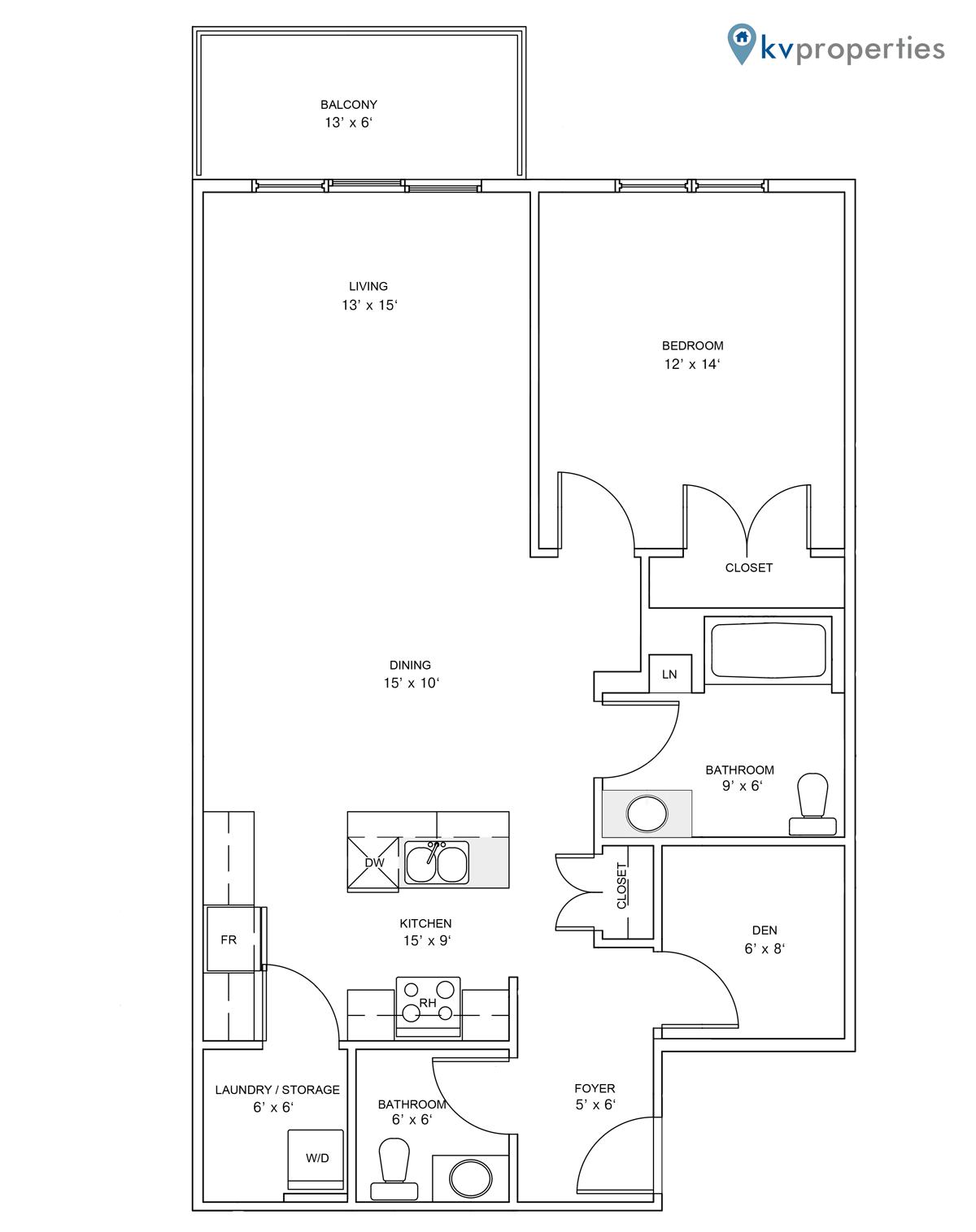 Sandstone Place - Apartment Style D